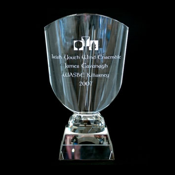 Award crystal