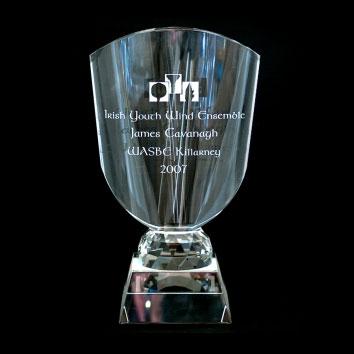 Award crystal